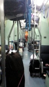 A small glimps of the sleeper train...