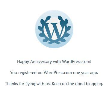 Anniversary w. WP
