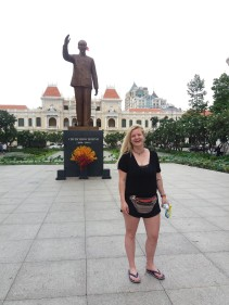 Sai Gon Square - the old name for Ho Chi Minh City